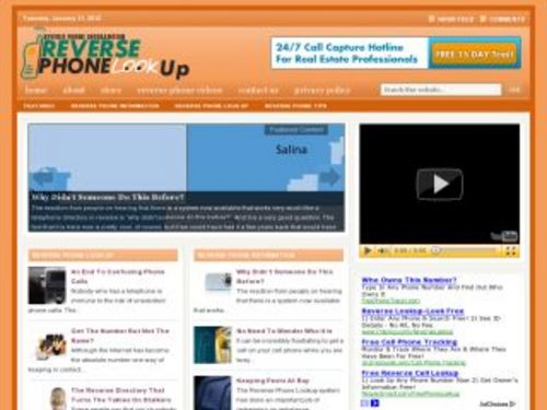 Product picture Reverse Phone Directory Niche Blog w/ PLR