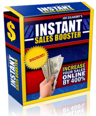 Product picture New Instant Sales Booster with Resell Rights